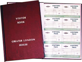 One-write Visitor Book